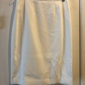 Kasper Separates, skirt, ivory, size 6